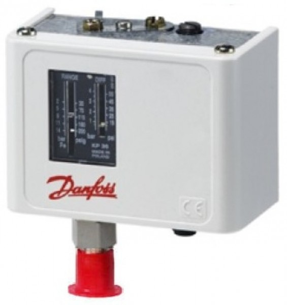 Danfoss KP-A pressostat for ammoniakk, HP/LP